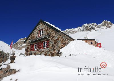 Trifthütte im Winter