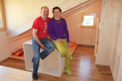Hüttenwarte Markus und Irene Wyrsch